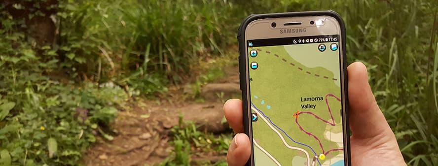 iWalk Mobile App