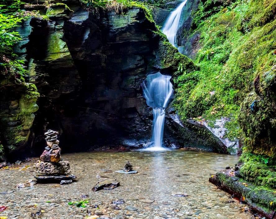 Spectacular Waterfalls in Cornwall