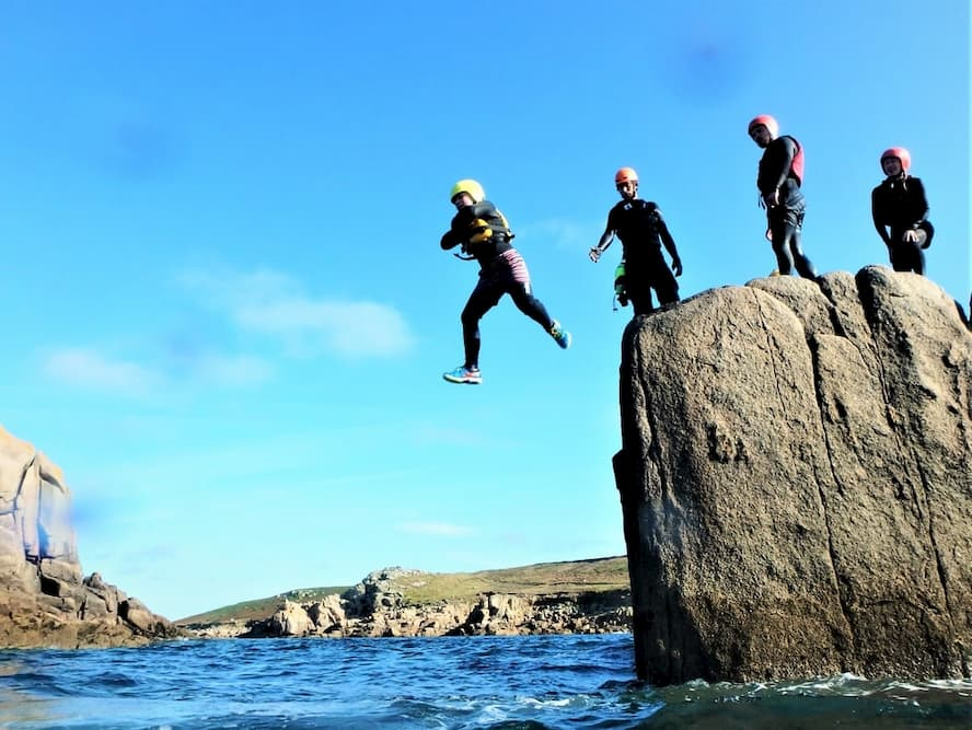 Coasteering and cliff jumping on the Isles of Scilly with Kernow Coasteering, Cornwall's adventure activity specilaists. (1).jpg