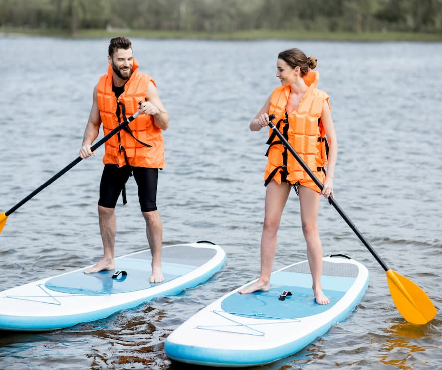 Get aboard a Paddle Board